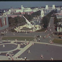 World's Fair. General view toward Washington Square and Constitution Mall