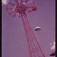 World's Fair. Life Savers parachute tower