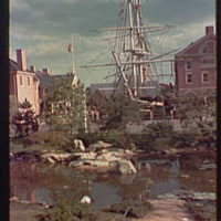 World's Fair. New England exhibit general view I