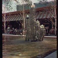 World's Fair. Orrefors crystal fountain
