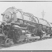World's Fair, railroad exhibit locomotives. N & W 1206, general view
