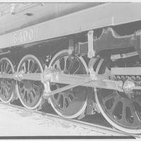World's Fair, railroad exhibit, modern locomotives. Canadian Northern 6400, detail