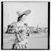 World's Fair, railroad pageant. Poke bonnet IV