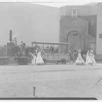 World's Fair, railroad pageant. Tom Thumb and Peter Cooper