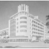 Albion Hotel, Lincoln Rd., Miami Beach, Florida. General exterior
