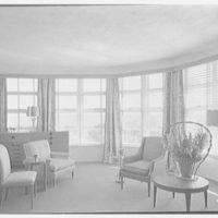 Albion Hotel, Lincoln Rd., Miami Beach, Florida. Penthouse living room
