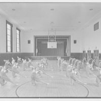 Aquinas High School, E. 182nd St. and Belmont Ave., Bronx. Auditorium with gym class II