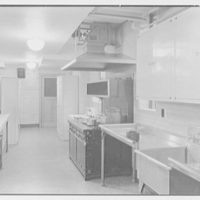 Aquinas High School, E. 182nd St. and Belmont Ave., Bronx. Cafeteria kitchen