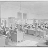 Aquinas High School, E. 182nd St. and Belmont Ave., Bronx. Secretarial room II