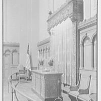 Brick Presbyterian Church, 91st St. and Park Ave., New York City. Altar, sharp view