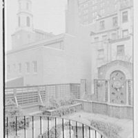 Brick Presbyterian Church, 91st St. and Park Ave., New York City. Garden