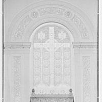 Brick Presbyterian Church, 91st St. and Park Ave., New York City. Symbolic panel, in chancel