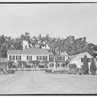 Charles L. Stillman, residence in Fairfield, Connecticut. Rear, general