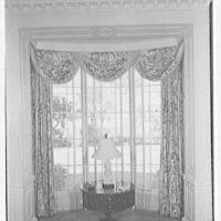 Charles S. Davis, residence at 850 Lake Trail, Palm Beach, Florida. Living room window