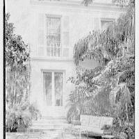 Charles S. Davis, residence at 850 Lake Trail, Palm Beach, Florida. South terrace I