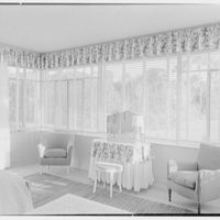 Charles S. Payson, residence in Hobe Sound, Florida. Girl's bedroom