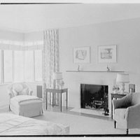 Charles S. Payson, residence in Hobe Sound, Florida. Master bedroom