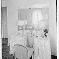 Charles S. Payson, residence in Hobe Sound, Florida. Master dressing room