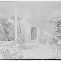 Charles S. Payson, residence in Hobe Sound, Florida. Porch I