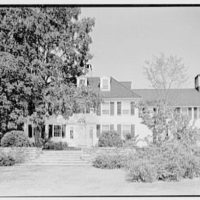 C.J. LaRoche, residence in Fairfield, Connecticut. House, from center
