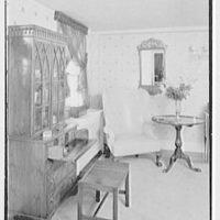 C.J. LaRoche, residence in Fairfield, Connecticut. Living room secretary