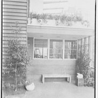 Collier's House at PEDAC, New York City. Entrance detail