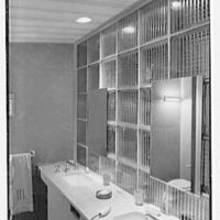 Collier's House at PEDAC, New York City. Master bathroom