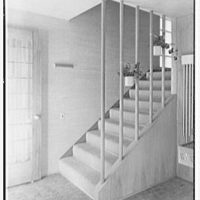 Collier's House at PEDAC, New York City. Staircase