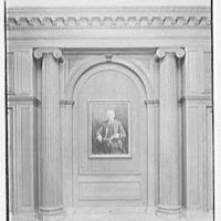 Dr. Henry W. Berg Room, at Public Library, 5th Ave. and 42nd St., New York Portrait niche II, with room illumination