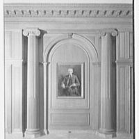 Dr. Henry W. Berg Room, at Public Library, 5th Ave. and 42nd St., New York Portrait niche I, additional artificial illumination