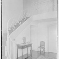 Edmund Davenport, residence in New Canaan, Connecticut. Entrance hall II