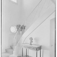 Edmund Davenport, residence in New Canaan, Connecticut. Entrance hall III