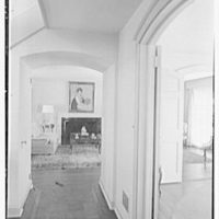Edmund Davenport, residence in New Canaan, Connecticut. Vista from pantry