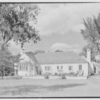 Edwin Thorne, residence in Bay Shore, Long Island. South facade