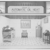 Electric Institute of Washington, Potomac Electric Power Co. building. Oil burner displays, summer 1940 III