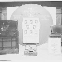 Electric Institute of Washington, Potomac Electric Power Co. building. Radio, radio station, and sound records booth displays V