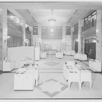 Electric Institute of Washington, Potomac Electric Power Co. Display of ranges in lobby at Potomac Electric Power Co. Building I