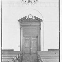 Elizabeth City Hall, Elizabeth, New Jersey. Council chamber entrance door