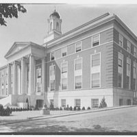 Elizabeth City Hall, Elizabeth, New Jersey. General exterior from right II