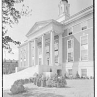 Elizabeth City Hall, Elizabeth, New Jersey. General exterior from right III