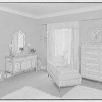 Ellen Ballon, residence at 2 W. 67th St., New York City. Bedroom  II