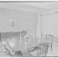 Ellen Ballon, residence at 2 W. 67th St., New York City. Dining room II