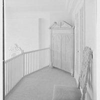 Ellen Ballon, residence at 2 W. 67th St., New York City. Upper hall