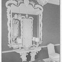 Ellsworth C. Warner, residence at Pelican Rd. and El Vedado, Palm Beach, Florida. Baroque powder room I