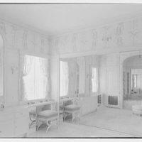 Ellsworth C. Warner, residence at Pelican Rd. and El Vedado, Palm Beach, Florida. Mrs. Warner's dressing room II