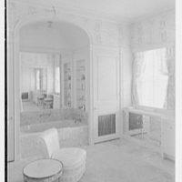 Ellsworth C. Warner, residence at Pelican Rd. and El Vedado, Palm Beach, Florida. Mrs. Warner's dressing room I