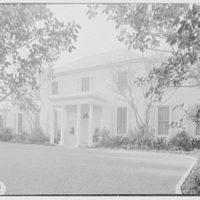 Ellsworth C. Warner, residence at Pelican Rd. and El Vedado, Palm Beach, Florida. Entrance facade I