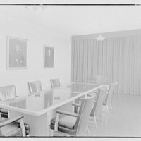 Flower Hospital, 5th Ave. hospital, New York Medical College, 106th St. near 5th Ave., New York City. Boardroom