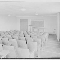 Flower Hospital, 5th Ave. hospital, New York Medical College, 106th St. near 5th Ave., New York City. 7th floor lecture room