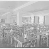 Flower Hospital, 5th Ave. hospital, New York Medical College, 106th St. near 5th Ave., New York City. Cafeteria